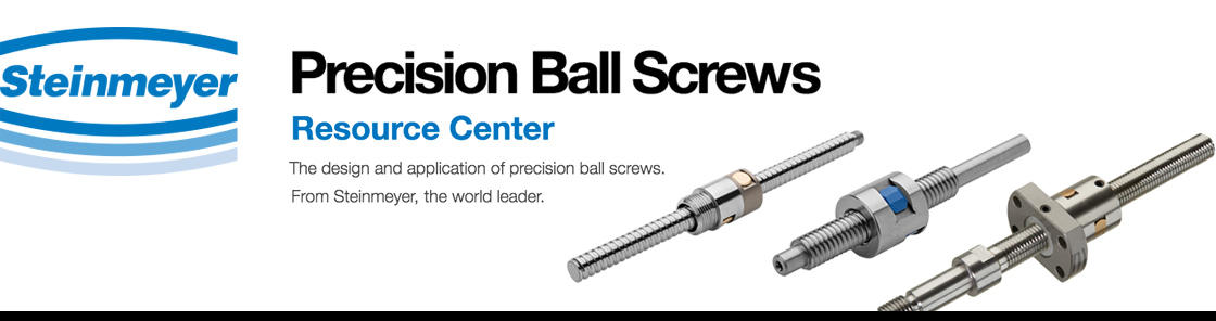 Precision Ball Screw Technology